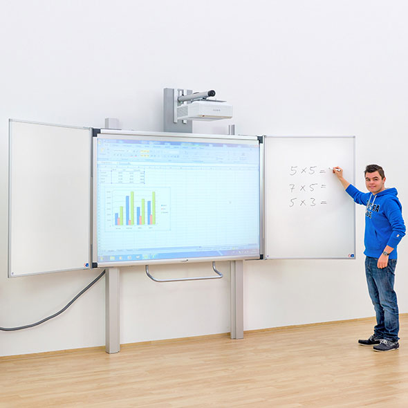 Whiteboard Selber Bauen interaktives whiteboard e board touch