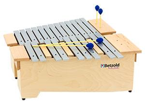 Musikinstrument Xylophon mit Schlägel