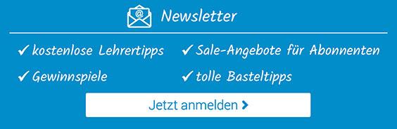 Jetzt zum Newsletter anmelden und von den vielen Vorteilen profitieren!